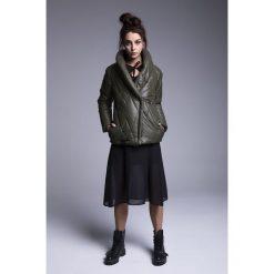 Naoko - Kurtka Malmo Hunter. Szare kurtki damskie pikowane marki NAOKO, l, z elastanu, casualowe. Za 369,90 zł.