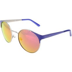 """Okulary przeciwsłoneczne damskie aviatory: Okulary przeciwsłoneczne """"GU7421"""" w kolorze niebiesko-srebrnym"""