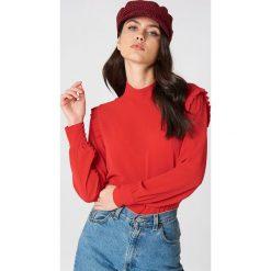 Bluzki asymetryczne: Second Female Bluzka Kruse - Red