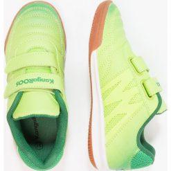 KangaROOS CHELO COURT V Tenisówki i Trampki lime/ultramarine green. Niebieskie trampki chłopięce marki KangaROOS. Za 129,00 zł.