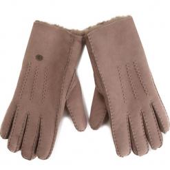 Rękawiczki Damskie EMU AUSTRALIA - Beech Forest Gloves  Mushroom 1. Brązowe rękawiczki damskie EMU Australia, ze skóry. Za 419,00 zł.