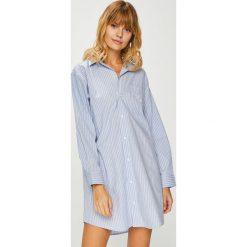 Lauren Ralph Lauren - Koszula nocna. Szare koszule nocne i halki Lauren Ralph Lauren, z bawełny. W wyprzedaży za 319,90 zł.