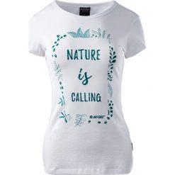 MARTES Koszulka damska Hi-Tec LADY INSIGHT biała r. XS. Białe topy sportowe damskie marki MARTES, xs. Za 33,75 zł.