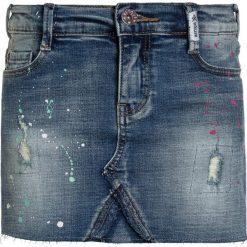 Retour Jeans SERENA Spódnica jeansowa vintage blue denim. Niebieskie spódniczki jeansowe Retour Jeans. Za 209,00 zł.