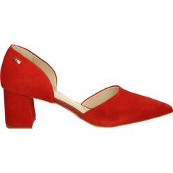 Buty ślubne damskie: Czółenka - 2710 CAM RO21