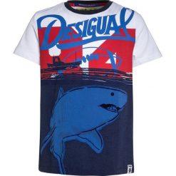 T-shirty chłopięce: Desigual Tshirt z nadrukiem blue