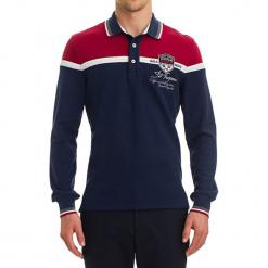 Koszulka polo w kolorze ciemnoniebieskim ze wzorem. Niebieskie koszulki polo GALVANNI, m. W wyprzedaży za 179,95 zł.