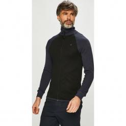 G-Star Raw - Bluza. Czarne bluzy męskie rozpinane marki G-Star RAW, m, z bawełny, bez kaptura. Za 329,90 zł.