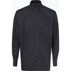 Eterna Comfort Fit - Koszula męska niewymagająca prasowania, szary. Szare koszule męskie non-iron Eterna Comfort Fit, m, w kratkę, z klasycznym kołnierzykiem. Za 249,95 zł.