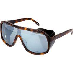 """Okulary przeciwsłoneczne """"BY4061A02"""" w kolorze brązowo-niebieskim. Brązowe okulary przeciwsłoneczne męskie Sonia Rykiel, Bally, Balmain, z tworzywa sztucznego. W wyprzedaży za 299,95 zł."""