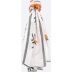 Answear - Szal City Jungle. Szare szaliki damskie ANSWEAR, z bawełny. W wyprzedaży za 29,90 zł.