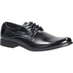 Czarne buty wizytowe sznurowane Casu MXC393. Czarne buty wizytowe męskie marki Casu, na sznurówki. Za 79,99 zł.