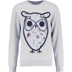 Bejsbolówki męskie: Knowledge Cotton Apparel BIG CONCEPT OWL Bluza grey melange