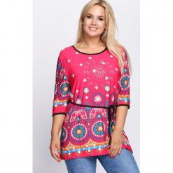 Różowa Bluzka Fancifully. Czerwone bluzki damskie marki Born2be, l. Za 39,99 zł.