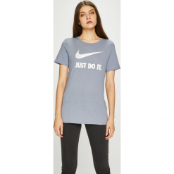 Nike Sportswear - Top 889403. Różowe topy sportowe damskie marki Nike Sportswear, l, z nylonu, z okrągłym kołnierzem. W wyprzedaży za 69,90 zł.