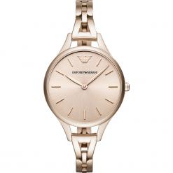 Zegarek EMPORIO ARMANI - Aurora AR11055 Pink/Pink. Żółte zegarki damskie marki Emporio Armani. Za 1269,00 zł.