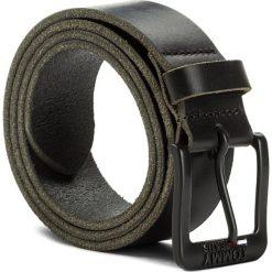 Pasek Męski TOMMY JEANS - Tjm Classic Belt 4.0 AM0AM03363 002. Czarne paski męskie Tommy Jeans, w paski, z jeansu. Za 179,00 zł.