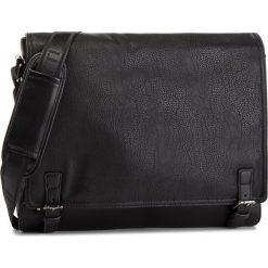 Torba na laptopa LANETTI - RM0087 Black. Czarne torby na laptopa marki Lanetti, ze skóry ekologicznej. Za 139,99 zł.