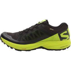 Salomon XA ELEVATE GTX Obuwie do biegania Szlak black/lime green. Czarne buty do biegania męskie marki Salomon, z materiału. Za 679,00 zł.