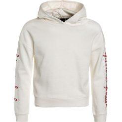 LMTD NLFNASHA HOOD Bluza z kapturem snow white. Białe bluzy dziewczęce rozpinane LMTD, z bawełny, z kapturem. Za 139,00 zł.