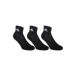 Skarpety tenisowe Adidas 3 pary. Czarne skarpetki męskie marki Adidas. W wyprzedaży za 29,99 zł.