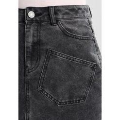 Minispódniczki: Noisy May NMSOPHIA SKIRT Spódnica jeansowa black