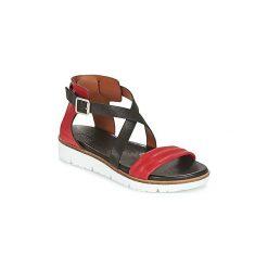 Sandały Pataugas  ILDA-COQUELICOT. Czerwone sandały damskie Pataugas. Za 455,20 zł.