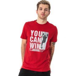 4f Koszulka męska H4L18-TSM017 czerwona r. 3XL. Czerwone koszulki sportowe męskie marki 4f, l. Za 49,99 zł.