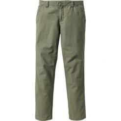 Chinosy męskie: Spodnie chino Regular Fit bonprix oliwkowy