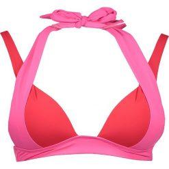 """Biustonosz bikini """"Savannah Sunset"""" w kolorze różowo-czerwonym. Czerwone biustonosze push up Heidi Klum Intimates. W wyprzedaży za 194,95 zł."""