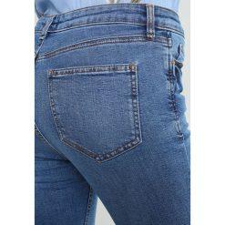 Rurki damskie: Warehouse POWERHOLD Jeans Skinny Fit blue denim