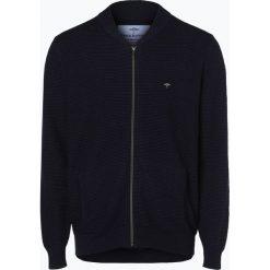 Fynch Hatton - Kardigan męski, niebieski. Niebieskie swetry rozpinane męskie Fynch-Hatton, m, z bawełny, eleganckie. Za 399,95 zł.