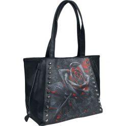 Torebki i plecaki damskie: Spiral Burnt Rose Torebka – Handbag czarny