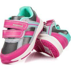 Buciki sportowe dla dziewczynki HARLOW. Czerwone buty sportowe dziewczęce marki HASBY. Za 79,00 zł.