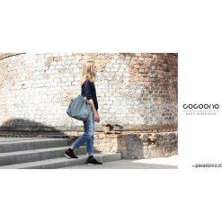 Torebki i plecaki damskie: Big Pacco bag torebka jasnoszara teksturowana