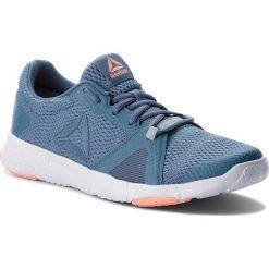Buty Reebok - Flexile CN5365 Blue/Grey/Pink/White. Niebieskie buty do fitnessu damskie marki Salomon, z gore-texu, na sznurówki, gore-tex. W wyprzedaży za 189,00 zł.