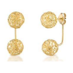 Kolczyki damskie: PROMOCJA Kolczyki Złote – złoto żółte 375