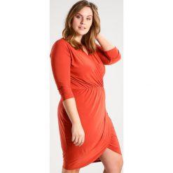 Sukienki hiszpanki: Missguided Plus Sukienka z dżerseju rust