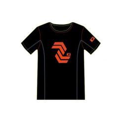 IQ Koszulka Męska Yade Black/Flame r. M. Szare koszulki sportowe męskie marki IQ, l. Za 54,54 zł.