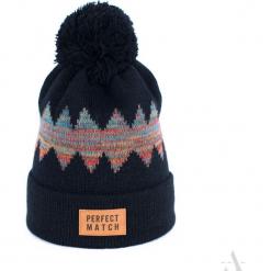 Czapka unisex Universal winter czarna. Czarne czapki zimowe damskie Art of Polo. Za 36,52 zł.