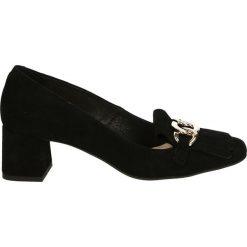 Czółenka - 2646 CAM NER1. Czarne buty ślubne damskie Venezia, ze skóry. Za 199,00 zł.