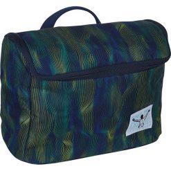"""Kosmetyczka """"Wahbag"""" w kolorze granatowo-zielonym - 28 x 20,5 x 14 cm. Niebieskie kosmetyczki damskie Chiemsee Bags. W wyprzedaży za 65,95 zł."""