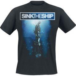 T-shirty męskie z nadrukiem: Sink The Ship Sink the ship T-Shirt czarny