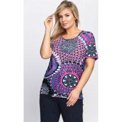 Fioletowy T-shirt Lovelight. Fioletowe bluzki damskie marki Born2be, l. Za 19,99 zł.