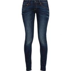 GStar 3301 LOW SUPER SKINNY Jeans Skinny Fit neutro stretch denim. Szare jeansy damskie relaxed fit marki G-Star. W wyprzedaży za 344,25 zł.