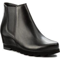 Botki HÖGL - 4-103420 Schwarz 0100. Czarne buty zimowe damskie marki HÖGL, z materiału. W wyprzedaży za 429,00 zł.