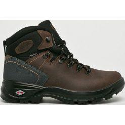 Grisport - Buty. Czarne buty trekkingowe męskie Grisport, na zimę, z materiału, na sznurówki, outdoorowe. Za 299,90 zł.