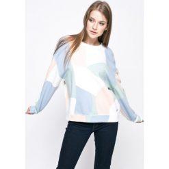Pepe Jeans - Bluza. Szare bluzy damskie Pepe Jeans, l, z bawełny, bez kaptura. W wyprzedaży za 239,90 zł.