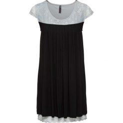 Sukienki hiszpanki: Sukienka bonprix czarno-srebrnoszary