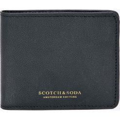 Portfele męskie: Scotch & Soda – Portfel skórzany